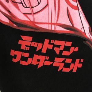 Loot Crate Shirts - Deadland Wonderland Black Anime Tee A070532